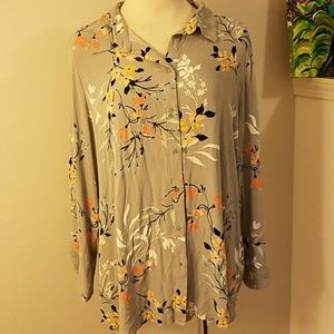 14th and union gray blouse 1x